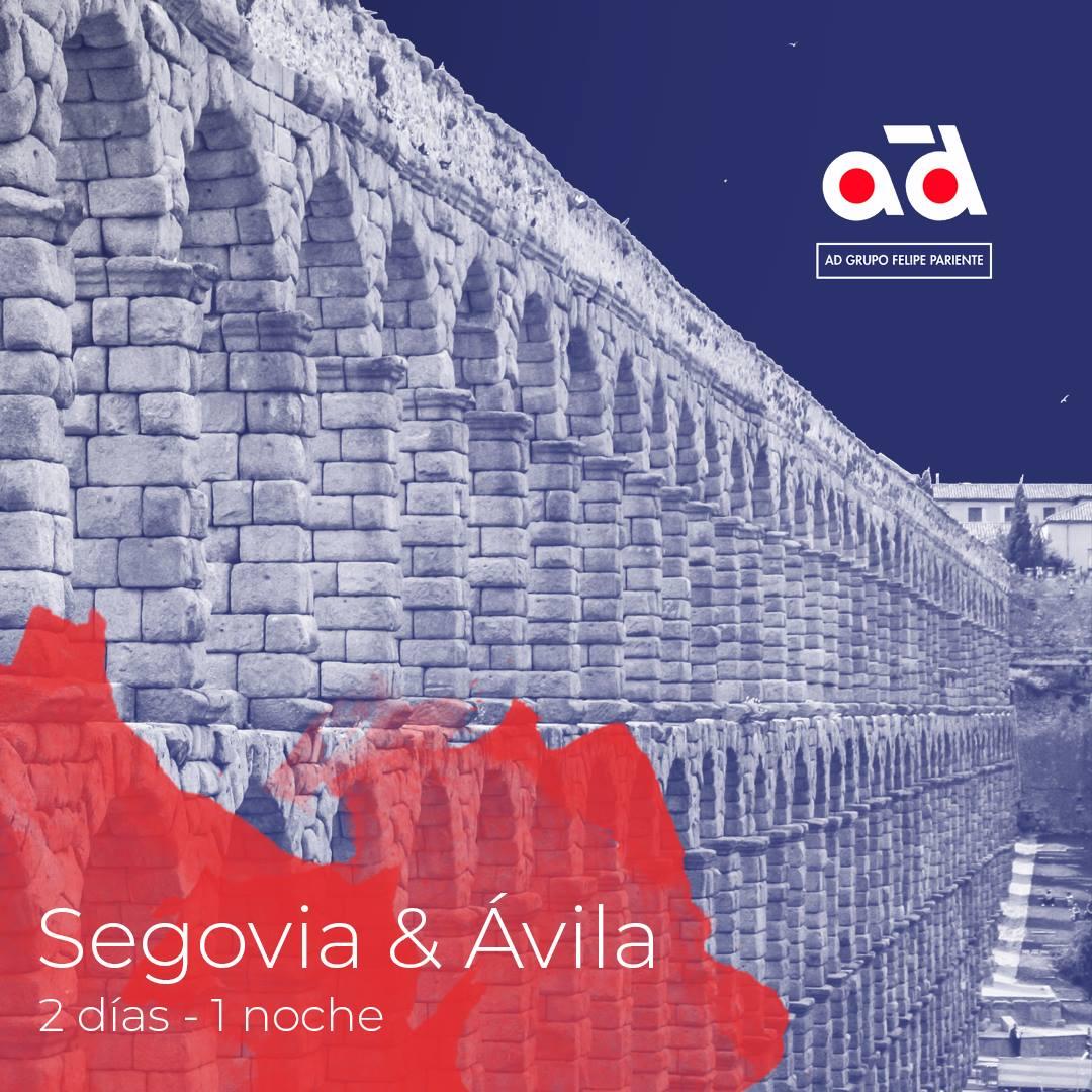 Viaje a Ávila y Segovia junto a nuestros clientes.
