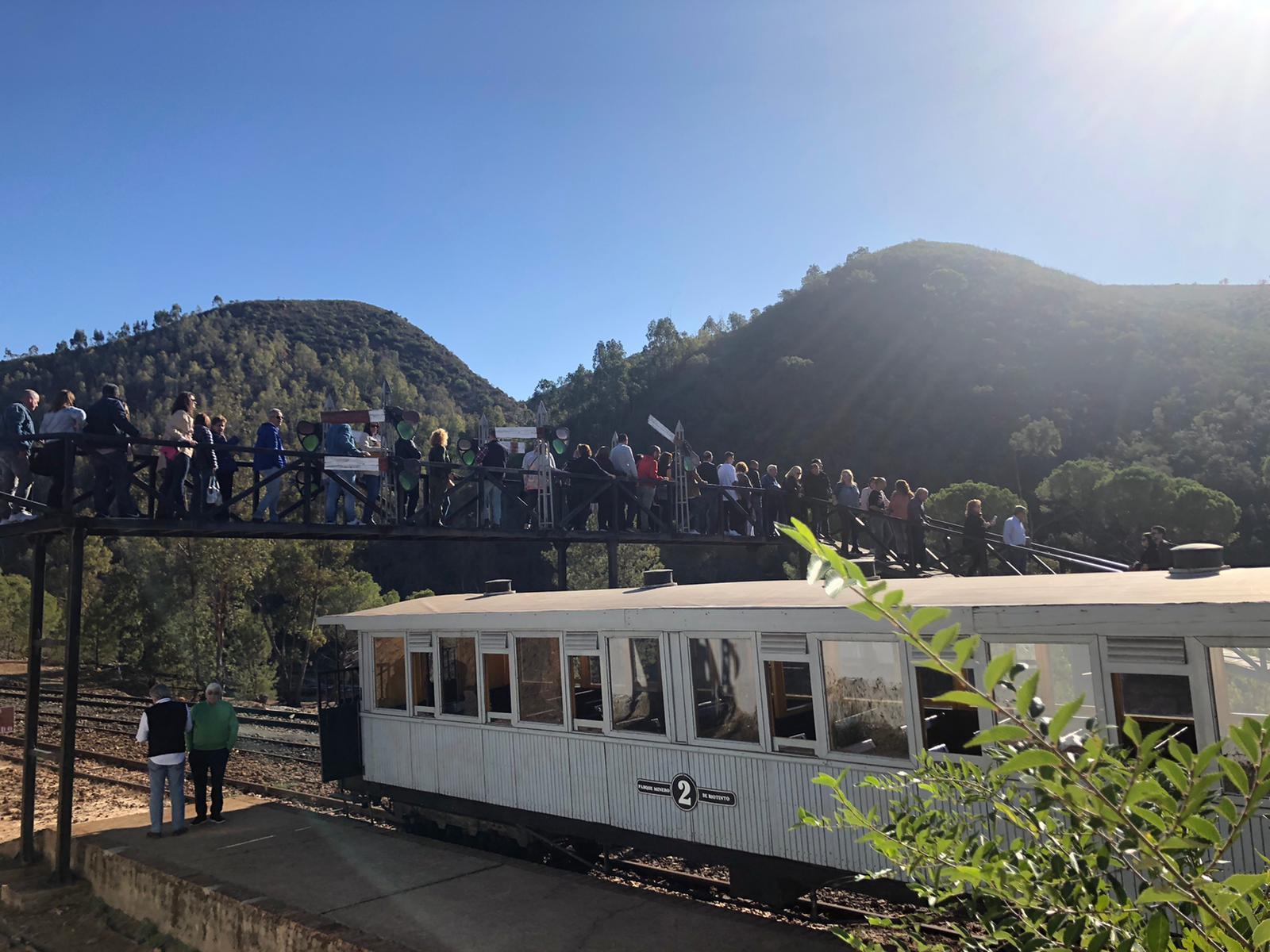 Viaje a las Minas de Río Tinto y a la Yeguada Peralta con nuestros clientes