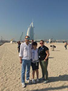 viaje AD Extremadura Abu Dhabi 2020