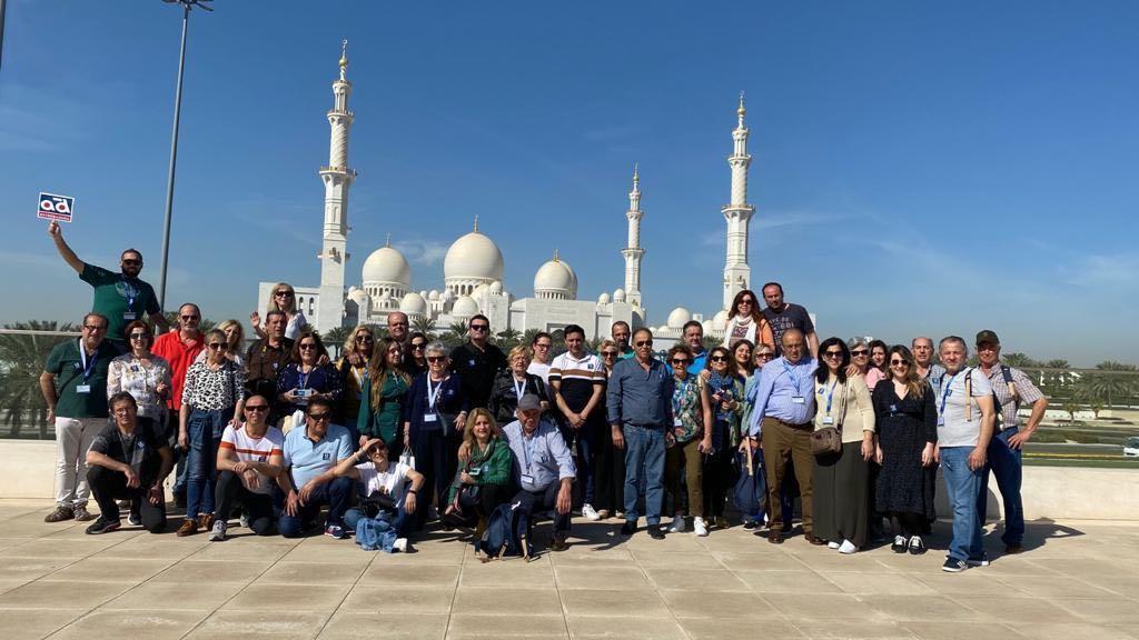 Viaje a Abu Dhabi con nuestros clientes